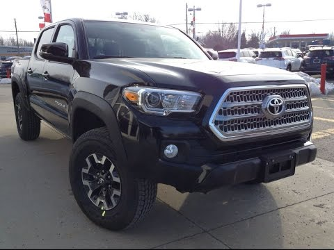hqdefault new 2017 toyota tacoma trd offroad dbl cab review black 1000  at gsmx.co