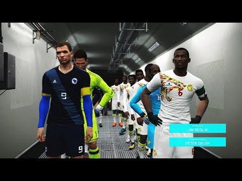 Senegal vs Bosnia and Herzegovina Friendly Match 2018 | Full Match | Pes Gameplay PC