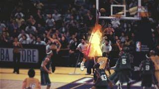PLAYING NBA 2K10!!! KOBE HITS THE JORDAN POSE IN-GAME!!!
