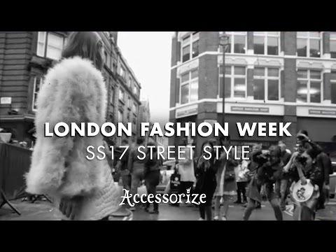 London Fashion Week SS17 |Street Style| Accessorize