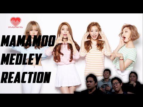 [4LadsReact] MAMAMOO MEDLEY Reaction