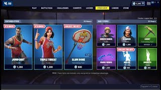 Triple Threat & Jumpshot Skins Back ! Fortnite Item Shop May 30, 2019