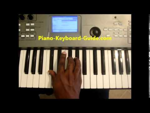 How To Play C Sus4 Chord C Sharp Sus 4 On Piano Youtube