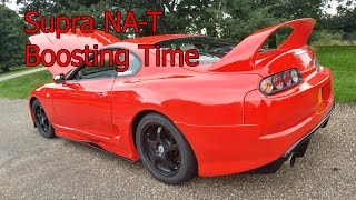 Toyota Supra NA-T Turbo Conversion - Part 42 - Boosting Time