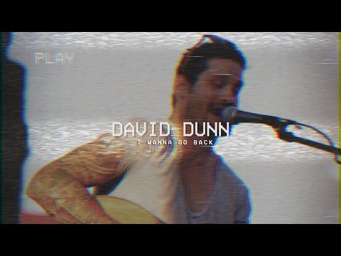 David Dunn  I Wanna Go Back Acoustic Lyric
