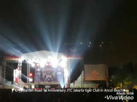 CMS Banten Road to Anniversary JTC Jakarta tiger club in Ancol beach 2016