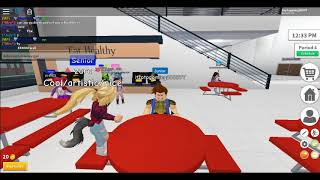 ROBLOX:Robloxian High School odc 2 (prawdziwy GamePlay)