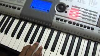 Play in Keyboard - Hindi - Akele Hum Akele Tum - Dil Mera Churaya Kyun Song