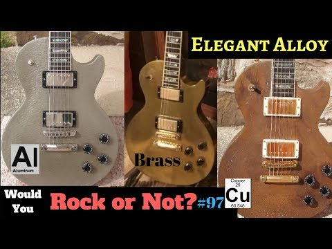 $250,000 Offer DECLINED! 1999 Gibson Les Paul Elegant Alloy Series History | WYRON #97