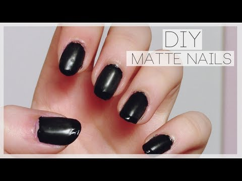 DIY Matte Nail Polish ♡ Works with any colour!