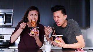 Spicy Ramen Challenge | WahlieTV