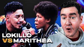 COMEDIANTE VS. RAPERA | REACCIÓN (Marithea vs. Lokillo - Red Bull Colombia 2021)