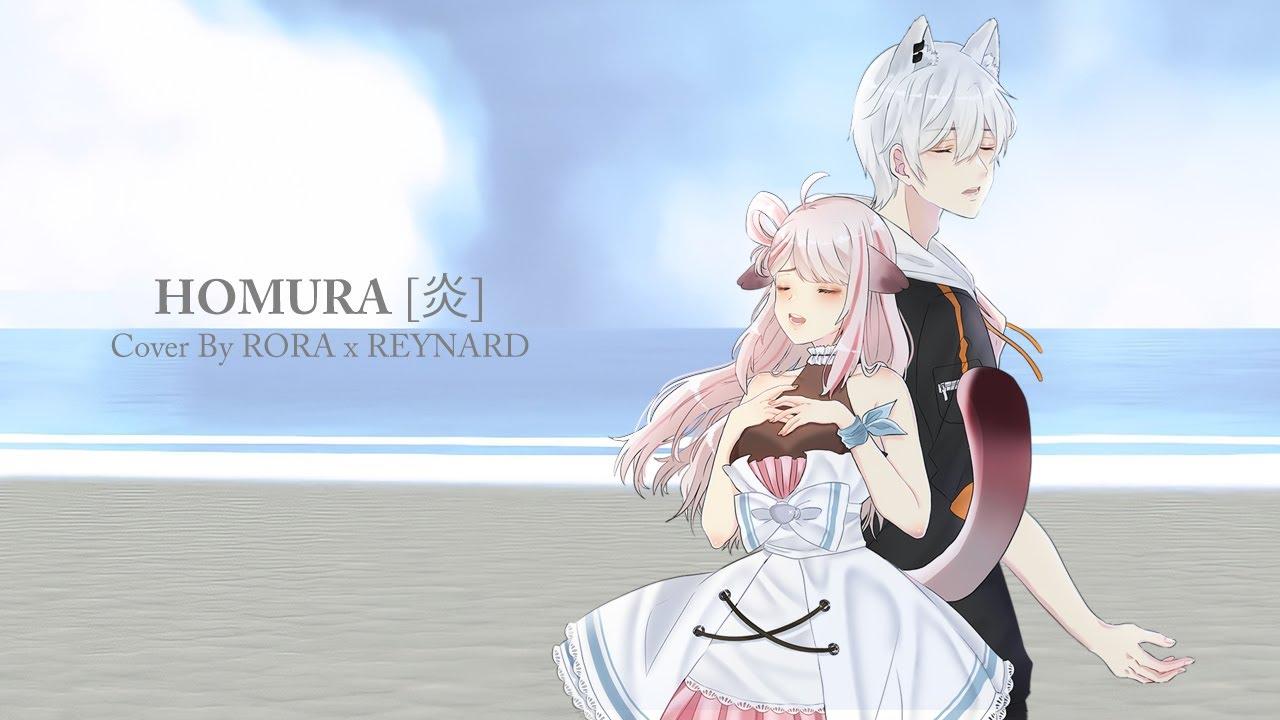 Homura 【炎】 - LiSA // Cover by Rora Meeza & Reynard Blanc