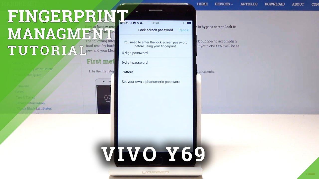 Resetting Videos VIVO Y69 - HardReset info