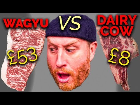 £53 Wagyu Steak  Vs  £8 Old Retired Dairy Cow