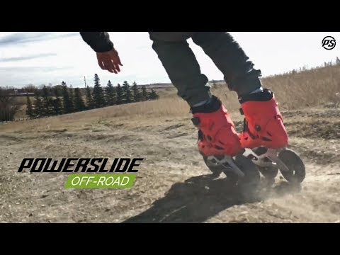 Canadian downhill skating with Richie Eisler & Dustin Werbeski - Powerslide Off-Road Inline skates