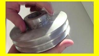 Изготовление шкива из алюминия(, 2014-03-21T17:59:21.000Z)