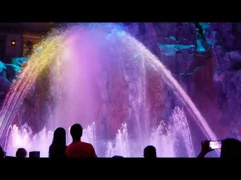 Las Vegas Sam's Town Mystic Falls Show
