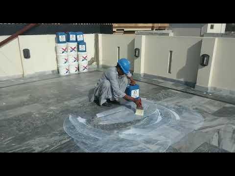 "Waterproof primer & penetrating base coat ""AQUAPLAST"" before waterproof & heat insulation coating"