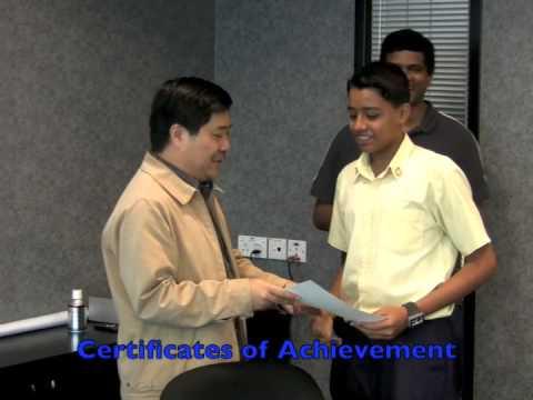 Student debate at JobsDB Singapore