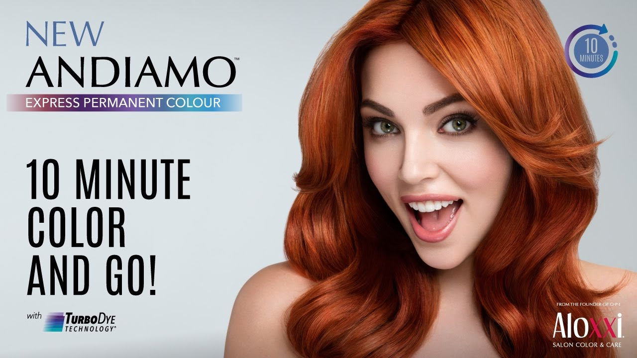 Color In 10 Minutes With Aloxxis Andiamo Express Permanent Colour