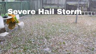 Hailstorm Sudden Severe