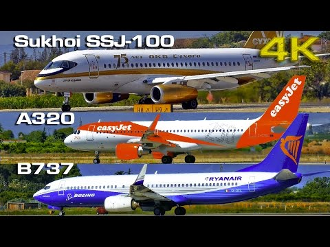 Sukhoi SSJ-100, Boeing B737 & Airbus A320, three of a kind
