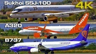 Top 10 Airlines - Sukhoi SSJ 100 vs  Boeing B737 vs  Airbus A320