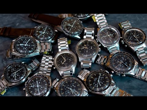 Understanding The Entire Lineage Of The Omega Speedmaster