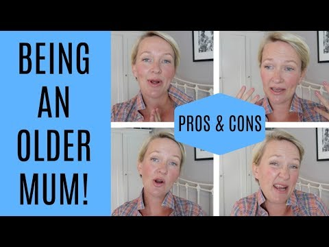 BEING AN OLDER MUM / MOM | UK STAY AT HOME MUM | MRS RACHEL BRADY