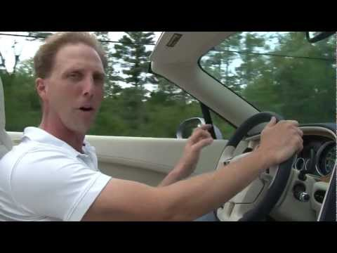 2012 Bentley Continental GTC - Drive Time Review with Steve Hammes