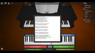 RIVER FLOWS IN YOU ROBLOX PIANO!! Sheets in desc
