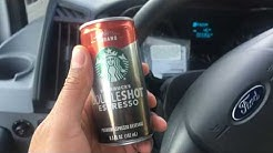 Starbucks double shot espresso Cubano review