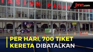 Dilarang Mudik, Stasiun Pasar Senen Layani 700 Penukaran Tiket per Hari - JPNN.com