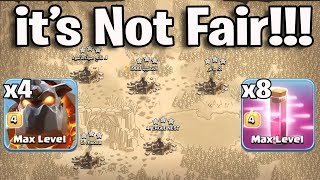 It's Not Fair Play  4 Lava 8 Haste Third Party Easy 3 Star Any War Bases | R.I.P Clash Of Clans War