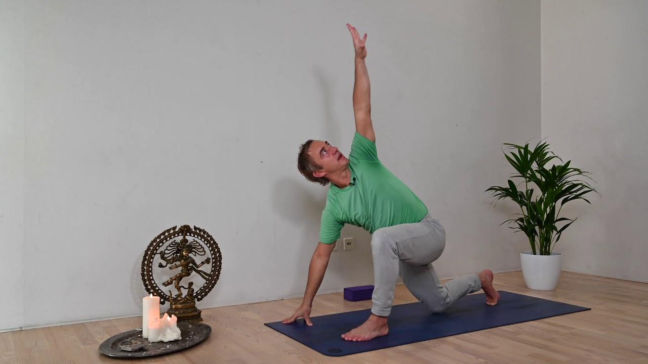 Vitalisierender Anusara Yoga Flow I Immunsystem stärken I 30 min vitalisieren
