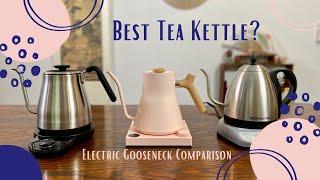 In-depth Electric Kettle Comparison for TEA - Fellow vs. Bonavita vs. Oxo
