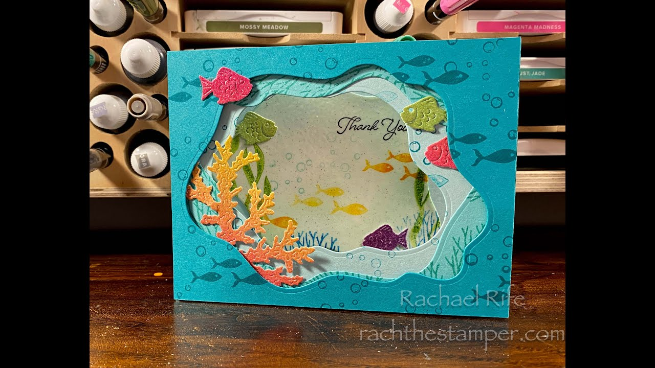 Download ❤️❤️LIVE Stamping Fun with Diorama Dies and Seascape bundle ❤️❤️