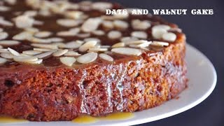 Date and Walnut Cake - Possibly the Best Cake Ever