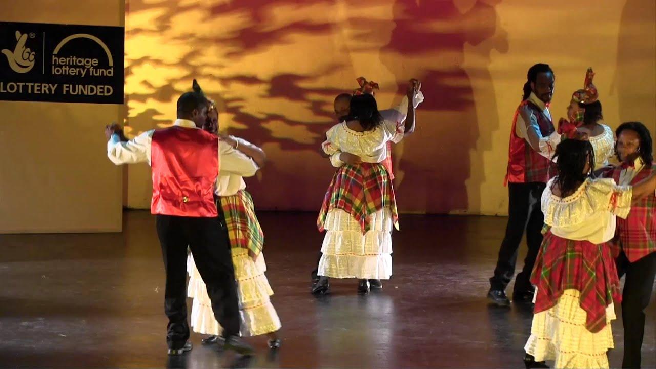 Exploring Cultural Dance - Quadrille. Anse La Raye dancers ...