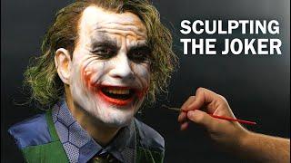 The Joker Sculpture Timelapse The Dark Knight