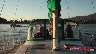 Video Sailing Away on the Sunset Kidd in Santa Barbara download MP3, 3GP, MP4, WEBM, AVI, FLV Agustus 2018