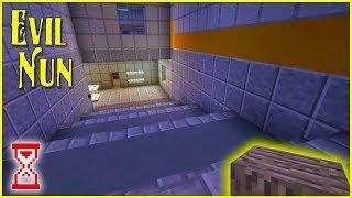 Построил выход на парковку | Minecraft Evil Nun