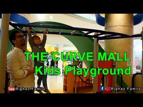 Kids Playground di Malaysia | The Curve mall | Righaz Family | Vlog Keluarga