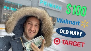 4 Easy Fall Outfits on a Budget | $100 challenge at Walmart, Target, Primark, Old Navy