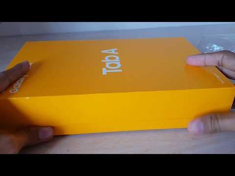Samsung Galaxy Tab A 10.5 unboxing   Samsung Tab a 10.5   latest Samsung Galaxy tab A 10.5 hands-on