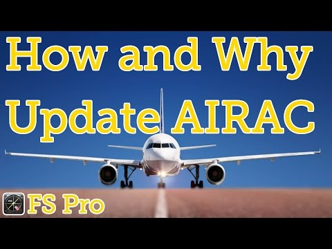 How to update your AIRAC (and why you probably should)