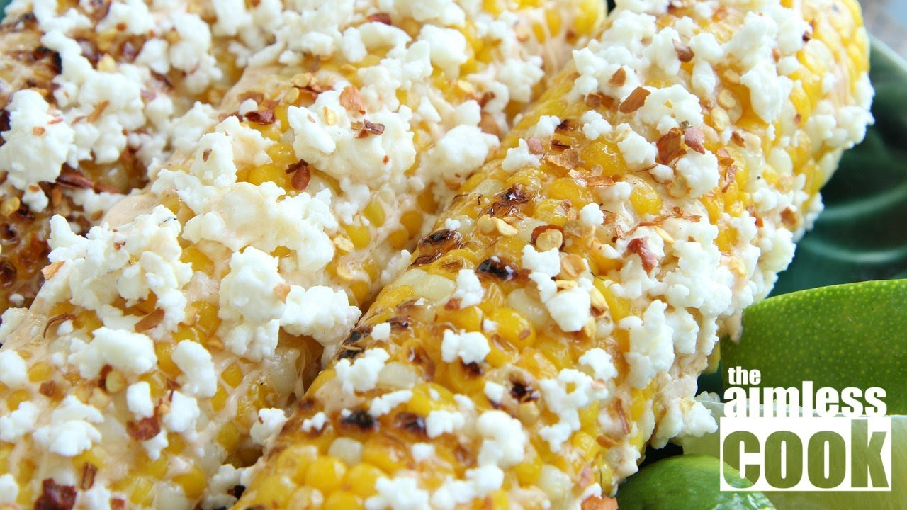 Elote mexican style grilled corn youtube ccuart Choice Image