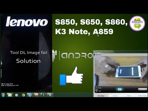 Repeat Lenovo A7000-a Flashing With (Tool DL Image Fail!) And Repair