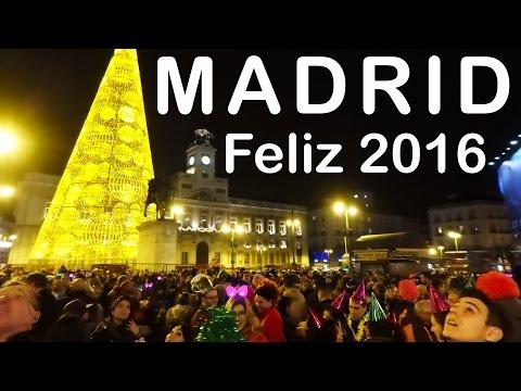 MADRID Puerta Del Sol Nochevieja New Years Eve 2015/2016
